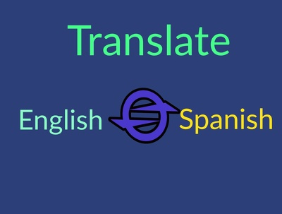 Translate English(pdf) to spanish ,vice versa