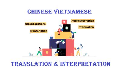 Transcribe Translate Subtitle Chinese Vietnamese Video Movie