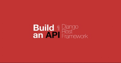 Build Web Api With Django Rest Framework