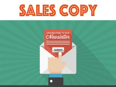 Write you a Unique and Successful Sales Copy For Your Website