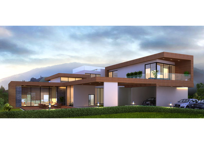 Design a beautiful house for you.