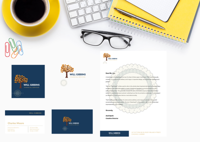 Design Brand Identity Kit - Logo | Letterhead | Business Card