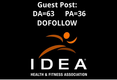 Publish a Guest Post on health & fitness site IdeaFit.com DA-66