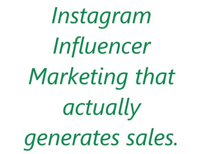 Do influencer marketing on instagram for your business