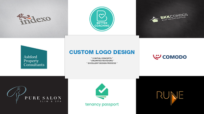DESIGN YOUR PROFESSIONAL LOGO (50% OFF)