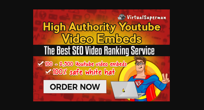 Embed Your Youtube Video In Top Websites With Best Seo ranking
