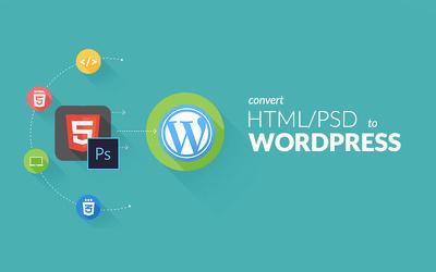 Do HTML to Wordpress