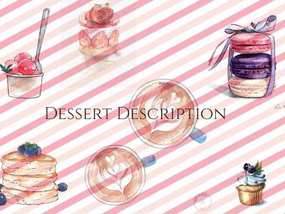 Write Savory Dessert Description