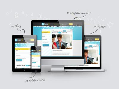 Design 5 page wordpress website full responsive