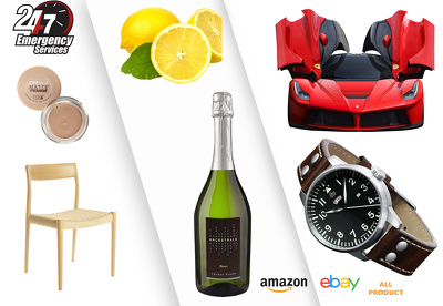 Remove the background of 20 images for amazon,eBay