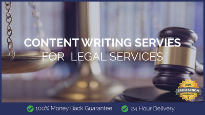 Content Writing for Legal Services