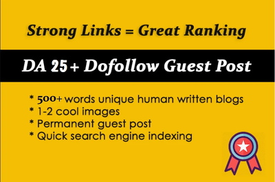 Publish A Guest Post On My Dr88 Blog With Dofollow Backlink