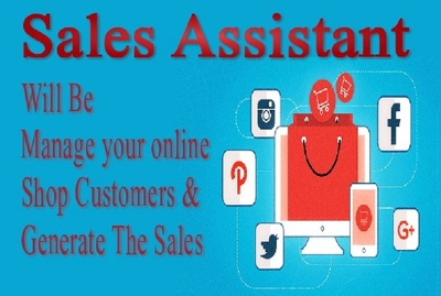 Manage your online shop customers and generate the sales