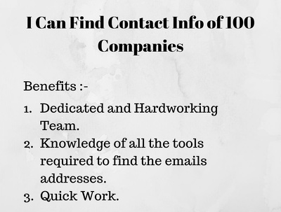 Build email list for email marketing.
