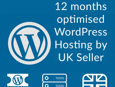 Give optimized WordPress Hosting for 12 months