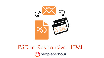 Convert psd to Responsive, Editable HTML Newsletter