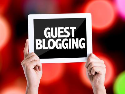 Write 5 articles & guest blog post on 5 high DA websites