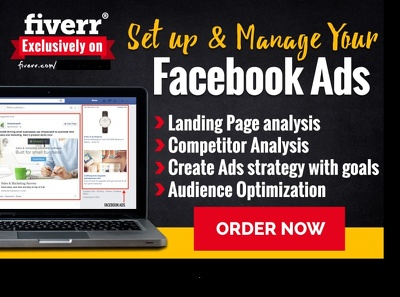 Create, Setup And Management Your Facebook Ad Campaign