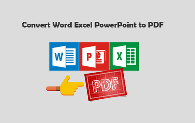 Convert Word, Excel, or PowerPoint to PDF up to 25 pages