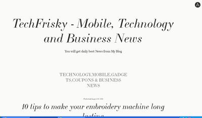 Publish A Real HQ Guest Post on Techfrisky.atavist.com (DA-77)