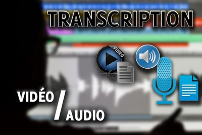 Transcribe Up To 30 Minutes Of English Audio Or Video
