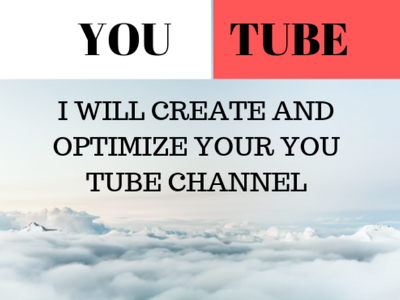 Manage your Youtube page for one week to increase exposure