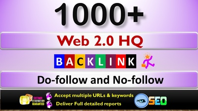 Do 1,000 web 2.0 HQ Backlinks