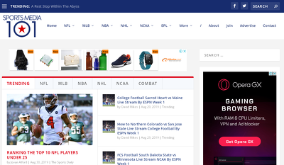 Publish HQ Sports Guest Post on Sportsmedia101.com (DA-56)
