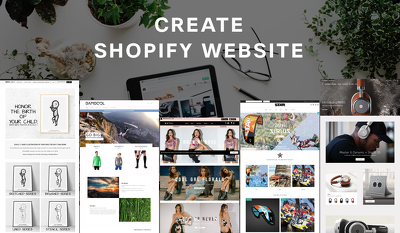 Create a Shopify website