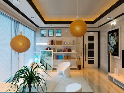 Do photo realistic 3d Interior and Exterior Design