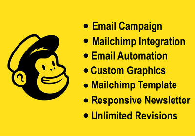Provide all mail-chimp services