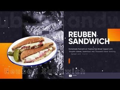 Make Modern Restaurant Menu Promo Video