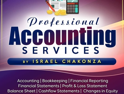 Prepare financial statements and management accounts in excel.