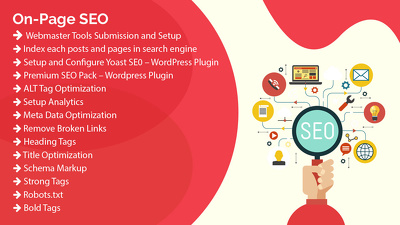 I will do On-Page SEO for your website