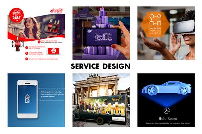 Service design/problem solving for startup, product, brand
