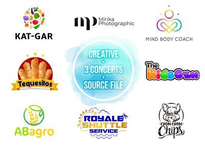 Design bestpoke Logo + Unlimited Revisions + Source File + 1 day