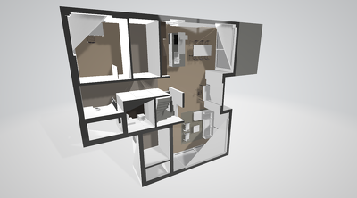 Create Detailed & Furnished 3D Floor Plan