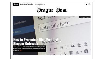 Guest post on The Prague Post - Praguepost.com