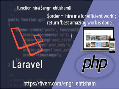Develop Or Install Website And Web App Using Php, Laravel