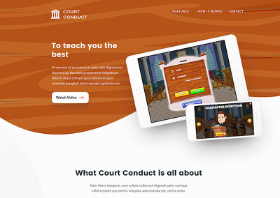 Create a custom one page Wordpress Website