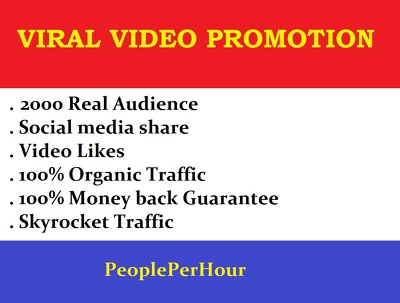 Do viral promotion of your YouTube Video views