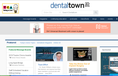 Publish dofollow Guestpost on dentaltown.com (DT)- DA: 44