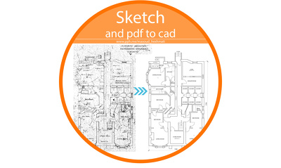 Draw Your Sketches In Cad