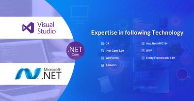 Create Web Application using Asp.Net MVC, C#, .Net Core