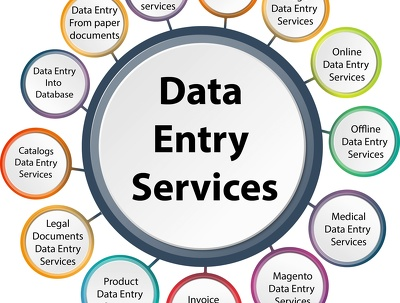 Do data entry / Email scrapping for you
