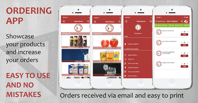 Wholesale Re-Ordering App for your business