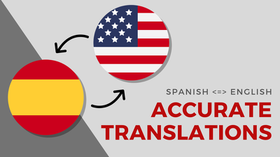 Translate 500 words Spanish  English