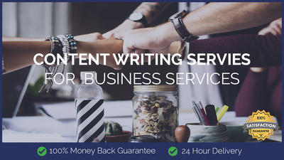 Content Writing for Business Services