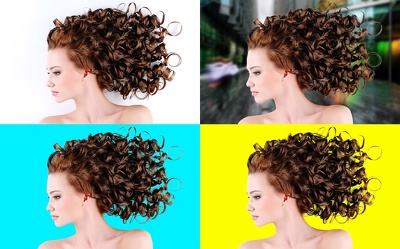 Remove the background of hair or anything in a very precise way