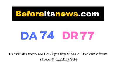 Guest Post on Beforeitsnews.com DA74 DR77